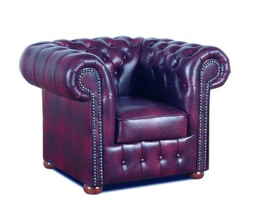 Chesterfield Klassik Sessel Antikrot (A7)