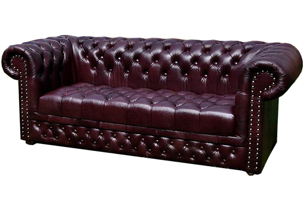 Chesterfield Williams 3 sitzer Ledersofa Antikrot (A7)