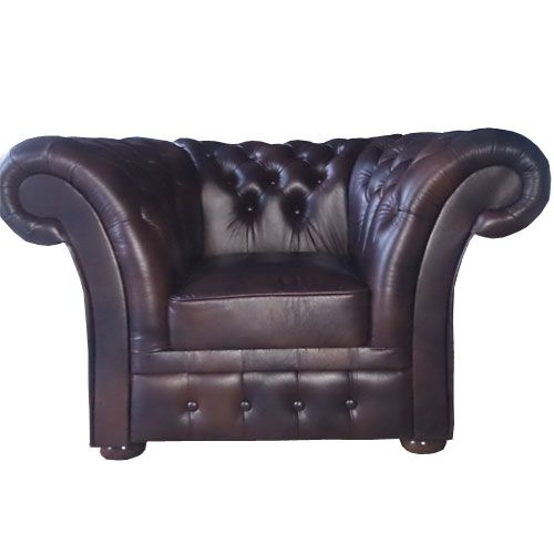 Chesterfield Windchester Fauteuil Antikbraun (A5)