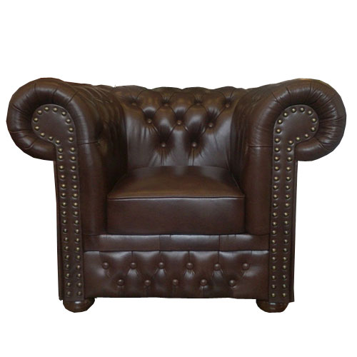 Chesterfield Lord Sessel Antikbraun