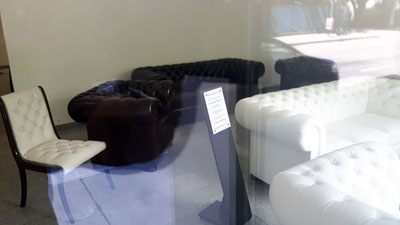 Chesterfield showroom