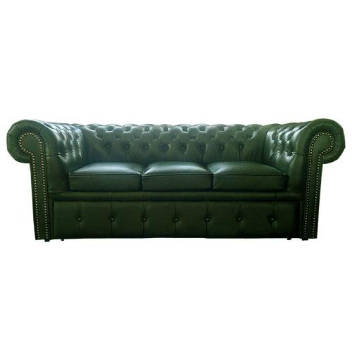 chesterfield 3er schlafsofa. Black Bedroom Furniture Sets. Home Design Ideas