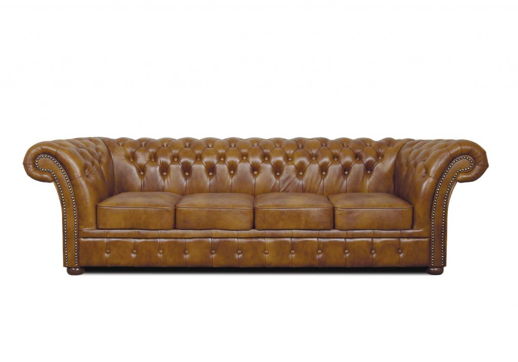 Chesterfield Windchester leder Sitzgarnitur 2+1+1 Antikrot (A7)