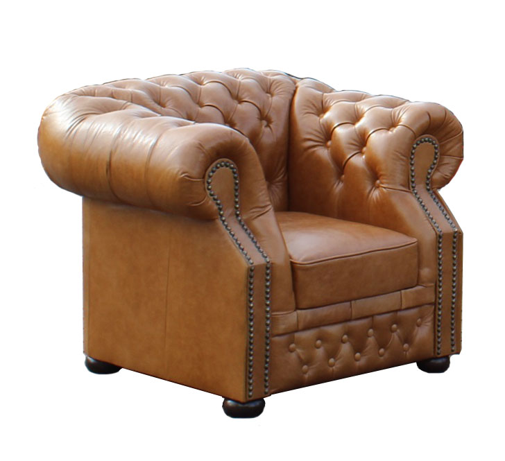 Chesterfield Windsor Sesssel Hazelnut (C12)