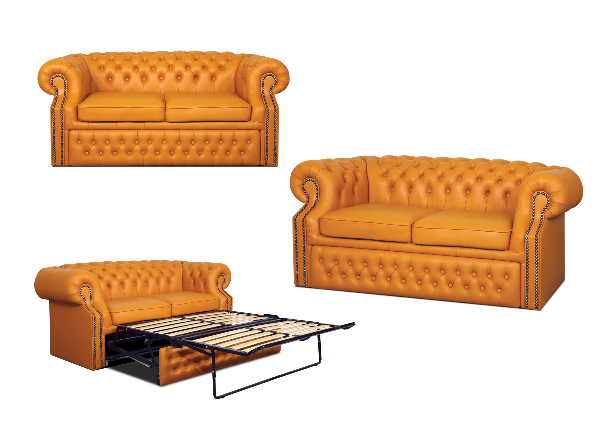 Chesterfield Windsor 3er Schlafsofa A3