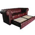 Chesterfield 3er Schlafsofa