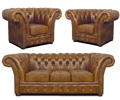 Chesterfield Windchester Sitzgarnitur,Garnitur,Set