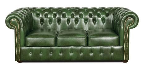 Chesterfield Sofa Antikgrun